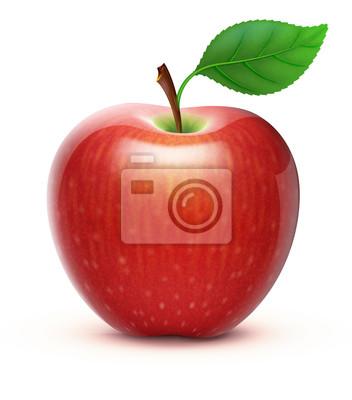 Fototapete roten Apfel