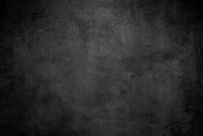Fototapete Rough Black wall slate texture rough background, dark concrete floor or old grunge background