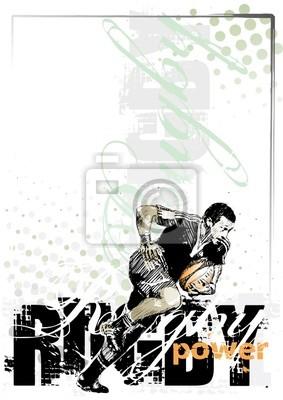 Rugby-Hintergrund 1