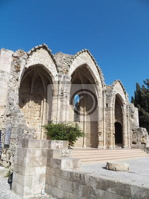 Ruiny na Rodos