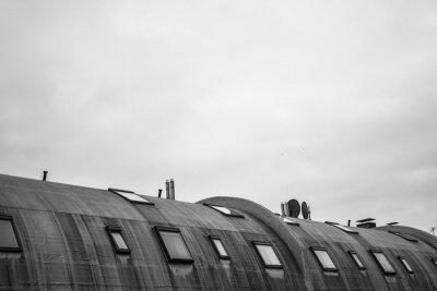 Fototapete Rundes Dach