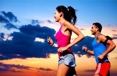 Fototapete Running, outdoor, fit.
