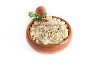 Russischer Salat Typisch Spanisch Essen Fototapete Fototapeten