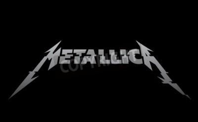 Fototapete RUSSLAND - FEBRUAR 09, 2017: Metallica neues Logo