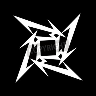 Fototapete RUSSLAND - FEBRUAR 09, 2017: Metallica Symbol