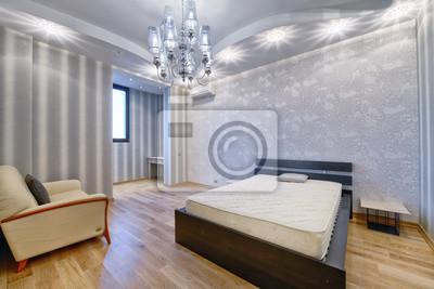 Russland, moskauer region - die innenarchitektur schlafzimmer ...
