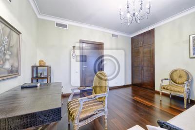 AuBergewohnlich Fototapete Russland, Region Moskau   Wohnzimmer Innenarchitektur In Neuen  Luxus Landhaus