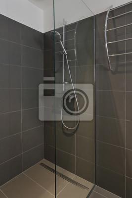 Fototapete: Salle de bain douche italienne