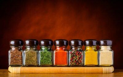 Fototapete Samen und Gewürze