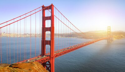 Fototapete San Francisco, Golden Gate Bridge