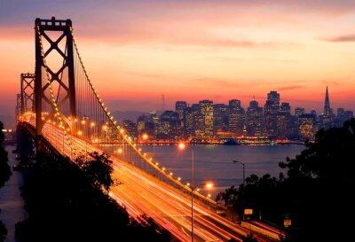 Fototapete San Francisco Sunset