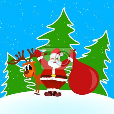 Santa Claus Mery Christmas