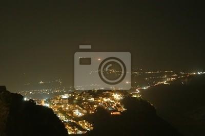 Santorini bis zum Nacht