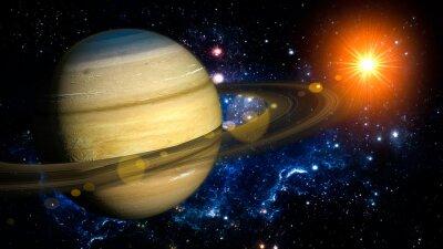 Fototapete Saturn