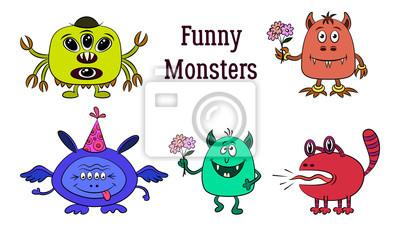 Monster-Zeichentrickfilme Schwanz in der Muschi