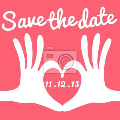save the date-Karte