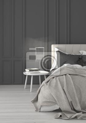 Fototapete: Schlafzimmer boxspringbett doppelbett bett wohnen einrichten