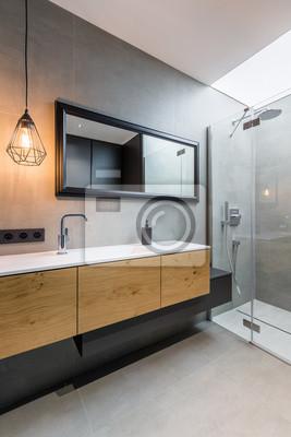 Charming Fototapete Schlafzimmer Mit Begehbarer Dusche