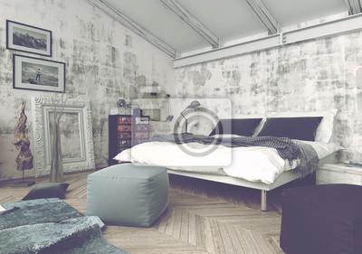 AuBergewohnlich Fototapete Schlafzimmer Mit Modernen Und Antiken Dekor