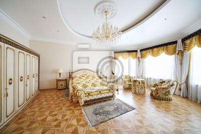Schlafzimmer Sessel   Schlafzimmer Mit Schonen Doppelbett Schrank Und Sessel Fototapete