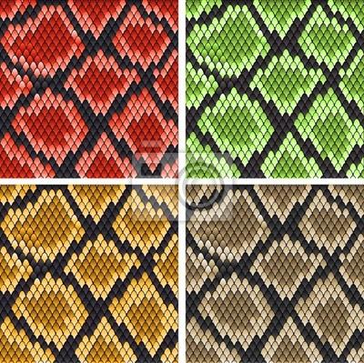 Schlangenleder-