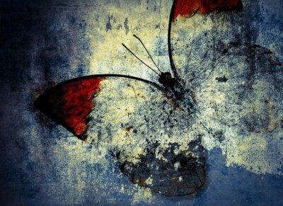 Fototapete Schmetterling