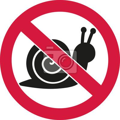 Tischler Zeichen schnecken verboten verbot zeichen fototapete fototapeten verboten