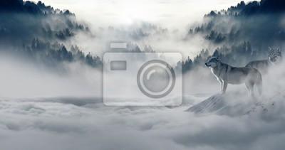 Fototapete SchneeWinter