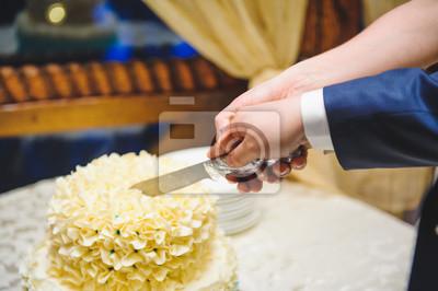 Fototapete Schneiden Schöne Kuchen