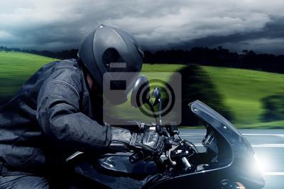 Schnelle Motorrad
