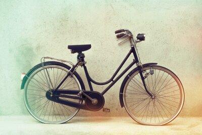 Fototapete Schön Alte rostige Fahrrad Retro mit awesome Effekt Farben auf