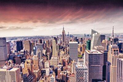 Fototapete Schöne Aussicht auf die New Yorker Skyline
