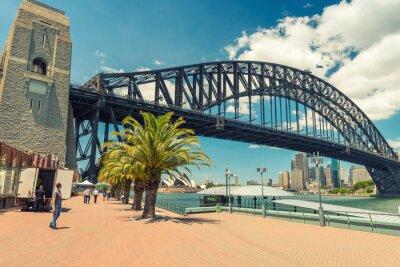 Fototapete Schöne Aussicht auf Sydney Harbour Bridge