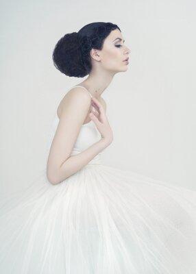 Fototapete Schöne Ballerina