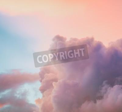 Fototapete Schöne bewölkten Himmel Hintergrund