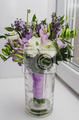 Schone Fruhjahr Bouquet Von Hochzeit Blumen Buttercup Ranunculus