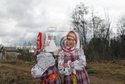 Russisches Mädchen aus freien