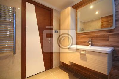 Schöne moderne badezimmer fototapete • fototapeten Innenräume ...