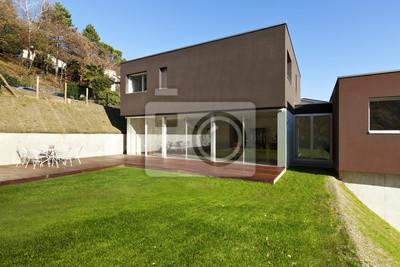 Fototapete Schöne, Moderne Häuser Mit Garten, Außen