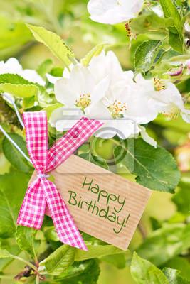 Schone Natur Grusskarte Hintergrund Alles Gute Zum Geburtstag