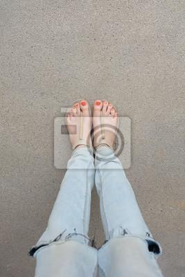 Füße schöne frauen Bilder von