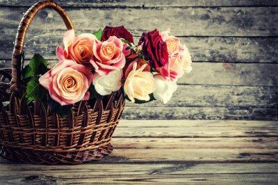 Fototapete Schöne Rosenblüten