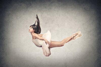 Fototapete schöne Tänzerin