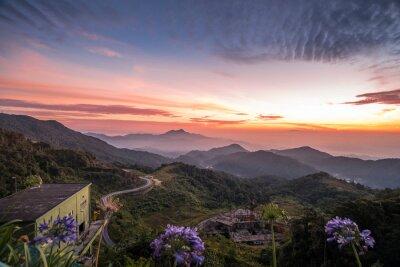 Fototapete Schöner Sonnenaufgang