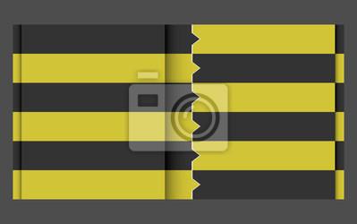 schwarz gelb Design-Vorlage