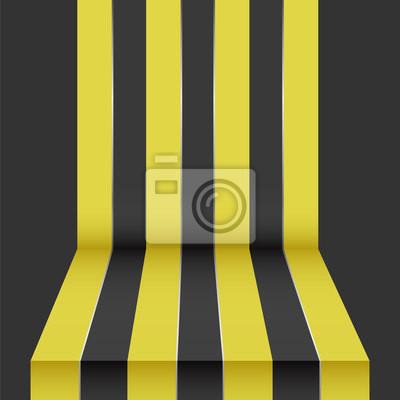 schwarz gelb Perspektive Hintergrund