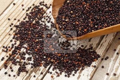 schwarz Quinoa Schaufel