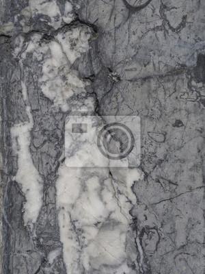 Schwarz Weiss Grau Poliert Granit Marmor Steinmauer Hintergrund