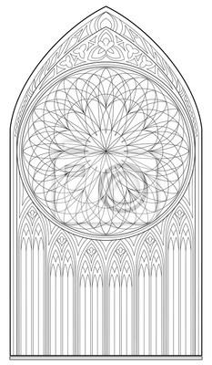 Schwarz-weiß-seite zum ausmalen. zeichnung des mittelalterlichen ...