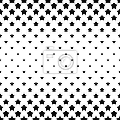 fototapete schwarz wei stern muster hintergrund - Stern Muster